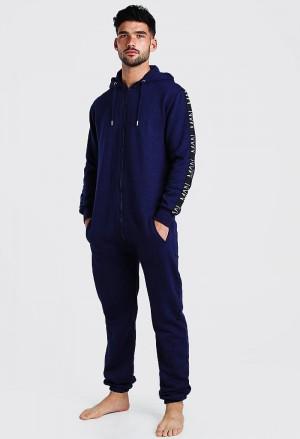 Vyriškas tamsiai mėlynos spalvos kombinezonas /> </a> <span class=