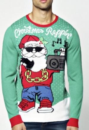 "Kalėdinis megztinis vyrams ""Rappin"" /> </a> <span class="