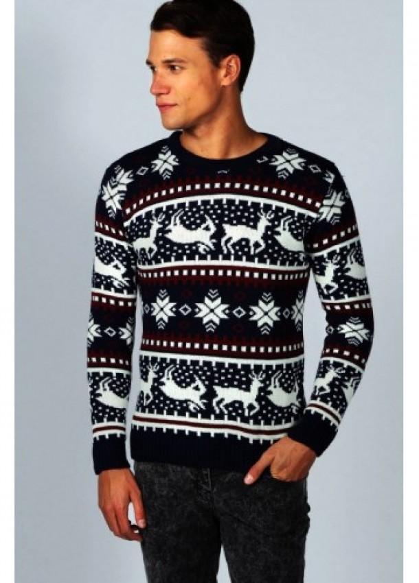 Vyriški kalėdiniai megztiniai