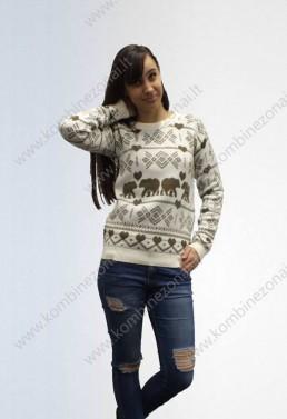 """Moteriškas megztinis """"Poliarinė meška"""""""