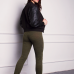 Vasariniai kombinezonai skirti moterims žalios spalvos