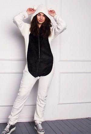 Šviesios spalvos pandos kostiumas moterims /> </a></div><div class=